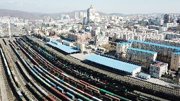 一季度中国国家铁路发送货物9.2亿吨