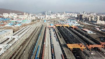 Central China city launches new China-Europe cargo train route