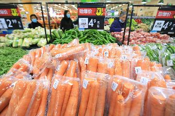 Chinas CPI up 0.9 percent year on year in April